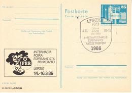 X01587 ESPERANTO DDR  GDR-o 1986 (GDR29) - Esperanto