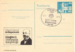 X01588 ESPERANTO DDR  GDR-o 1987 (GDR29) - Esperanto