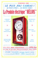 "PUB PENDULES ELECTRIQUE  "" HELIOS  ""  1922  ( 1 ) - Clocks"
