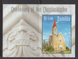 2010 Namibia Church Souvenir Sheet MNH - Namibia (1990- ...)