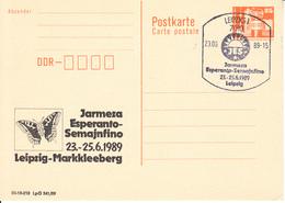 X01591 ESPERANTO DDR  GDR-o 1989 (GDR39) - Esperanto