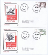 Denmark; 1997:  Europa - CEPT.  Fairy Tales And Legends; H. C. Andersen.  Set Of 2 On FDC (Populær Filateli). - Europa-CEPT
