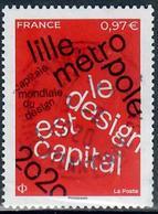 Yt Fraane 2020-17 Lille Metropole-cachet Rond - Oblitérés
