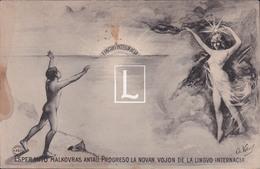 ESPERANTO MALKOVRAS ANTAU PROGRESO LA NOVAN VOJON DE LA LINGVO INTERNACIA // 1906 - Esperanto