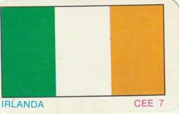 1986 Pocket Calendar Calandrier Calendario Portugal Futebol Soccer Bandeira Irlanda Irland Mexico 86 - Tamaño Grande : 1981-90