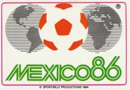 1986 Pocket Calendar Calandrier Calendario Portugal Futebol Soccer Mexico 86 - Tamaño Grande : 1981-90