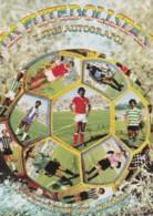 1983 Pocket Calendar Calandrier Calendario Portugal Futebol Soccer Futebolistas E Autografos - Tamaño Grande : 1981-90