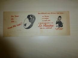Rasoir électrique LE RIVIERA,  Illustrateur PEYNET, Ref 1622 ; BU 01 - Carte Assorbenti