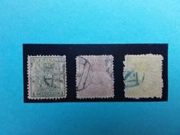 CINA 1885 - Dragone Nn. 4-5-6 Timbrati - Dentellatura Difettosa + Spedizione Raccomandata - Cina