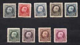 Belgie Belgique 1922 OCBn° 211-219 *** MNH 212 (*) MLH  Cote 99,95 € - Belgium