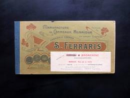Catalogo S. Ferraris Manufacture Carreaux Mosaique Monaco Pavimenti Primo '900 - Vecchi Documenti