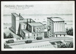 Malteries Franco-Belges - Usine De Ris-Orangis - Circulée En 1948 - 2 Scans - Ris Orangis