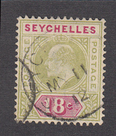 Seychelles 1906 18c  SG65  Used - Seychelles (...-1976)