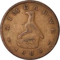 Monnaie, Zimbabwe, Cent, 1980, TTB, Bronze, KM:1 - Zimbabwe