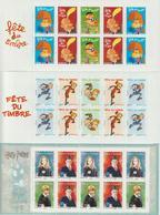 France Lot Sous Faciale -30% De 28 Carnets Fete Du Timbre TVP Lettre Prio., Ecopli, Monde Faciale 336,32 Euro - Booklets