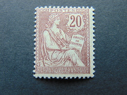 Très Beau N°. 126* - 1900-02 Mouchon