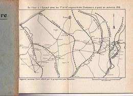 PAGES D'HISTOIRE DE L'ARMEE BELGE AU COURS DE LA GUERRE 1914 - 1918 - DE L' YSER A L'ESCAUT - CHASSEURS A PIED - Guerre 1914-18
