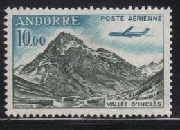 Andorre Fr. 1961/64 Yvert PA 8 Neuf** MNH (AB130) - Luftpost