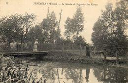 - SEIGNELAY (89) - Les Vannes Du Moulin  (animée)  -16767- - Seignelay