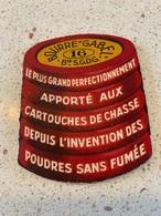 CALENDRIER PUBLICITAIRE La BOURRE GABEL  Cartouche De Chasse    De Poche 1932 - Small : 1921-40