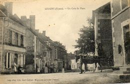 - LEUGNY (89) -  Un Coin Du Pays (café Baron, Cheval)  -16773- - Sonstige Gemeinden