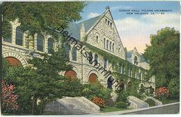 New Orleans - Tulan University - Gibson Hall - Baton Rouge