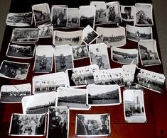 LOT 36 PHOTOS SYRIE 1925/1926 TROUPES FRANCAISES 16ème REGIMENT OFFICIERS CEREMONIES REVUE SPAHIS TIRAILLEURS - Guerre, Militaire