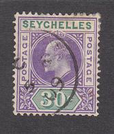 Seychelles 1906 30c  SG66  Used - Seychelles (...-1976)