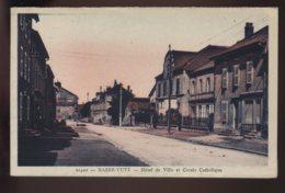 57 - BASSE-YUTZ - HOTEL DE VILLE ET CERCLE CATHOLIQUE - France