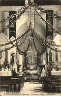 53  COSSE En CHAMPAGNE  Intérieur De L' Eglise Aprés La Mission - France