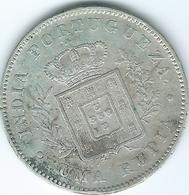 India - Portuguese - Luíz I - 1881 - 1 Rupia - KM312 - India