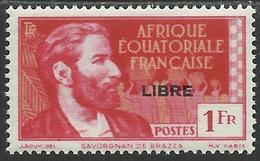AFRIQUE EQUATORIALE FRANCAISE - AEF - A.E.F. - 1941 - YT 115** - Neufs