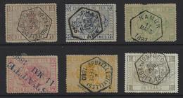 Y102 - Belgium - 187982 - Railway Parcel Stamps - TR1/6 Used No Needle Holes - Usados