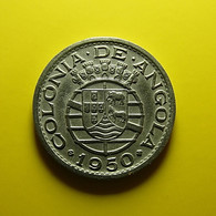 Portuguese Angola 50 Centavos 1950 - Portugal