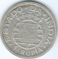 India - Portuguese - 1947 - 1 Rupia - KM27 - India