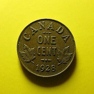 Canada 1 Cent 1928 - Canada