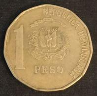 REPUBLIQUE DOMINICAINE - 1 PESO 1997 ( Frappe Médaille ) - KM 80.3 - Juan Pablo Duarte Y Diez - Dominicaine