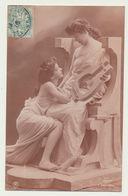 Femmes Romaines - Lyre - éditeur TRAUT - 1906 - Beauté Féminine D'autrefois < 1920
