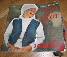 3 Suisses Roubaix - Guide Du Tricot Collection 1977-1978 - Fashion