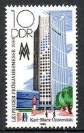 RDA. N°2162 De 1980. Université Karl Marx. - Karl Marx