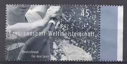 Bund 2007  Mi.nr. 2585 Wildwasserkanu Sporthilfe   Gestempelt / Oblitérés / Used - Usados