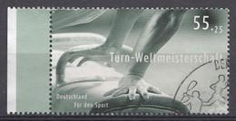 Bund 2007  Mi.nr. 2586 Turnen An Seitpferd  Sporthilfe   Gestempelt / Oblitérés / Used - Usados