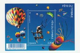 France Frankreich 2013 Yvert No. F4810 **, Michel Block 235 **, Fête Du Timbre, Kitesurfer, Luftballon - Nuevos
