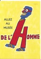 Cpm  Ill Savignac Allez Au Musée De L'Homme - Savignac