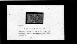 CG36 - Frammento - Annullo Di Voltaggio 20/5/1865 - Marcophilia