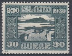 +M236. Iceland 1930. Alting. AFA / MICHEL 132. MH(*). - Nuovi