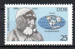 RDA. N°2159 De 1980. Astronome Wegener. - Astronomy