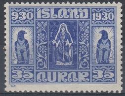 +M237. Iceland 1930. Alting. AFA / MICHEL 133. MNH(**). - Nuovi