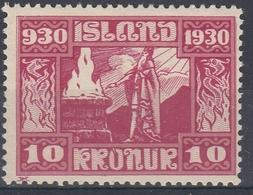 +M238. Iceland 1930. Alting. AFA / MICHEL 140. MH(*). - Nuevos
