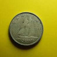 Canada 10 Cents 1968 Silver - Canada